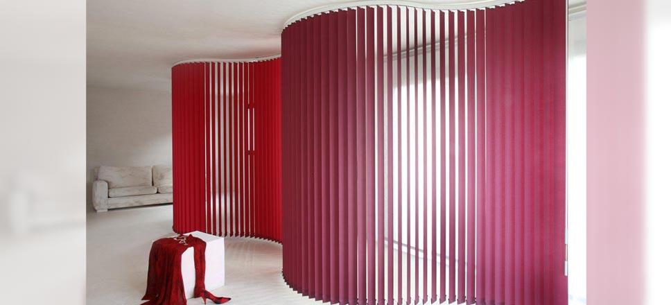 Lamellen Raumteiler gebogene lamellen horizontal und vertikal zum werkspreis