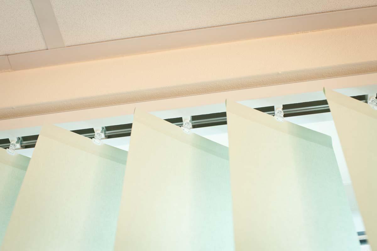 Streifenvorhang