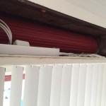 elektrischer Strahlenschutz Lamellenvorhang
