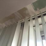 Blei-Lamellenvorhang nachgerüstet